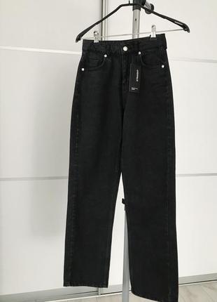 Чорні джинси, черные джинсы, черный деним.