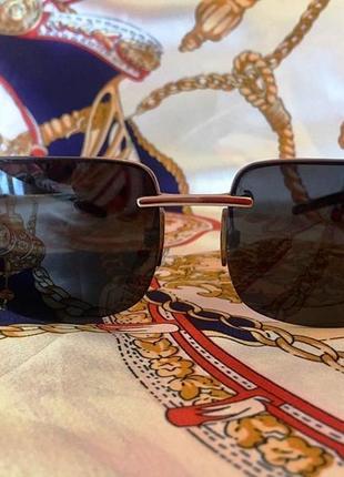 """Солнцезащитные очки """"dolce & gabbana"""" - оригинал - унисекс - прямые дужки"""