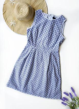 Платье из вышитого хлопка brooks brothers.