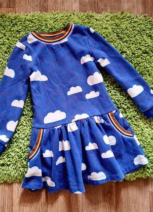 Теплое платье boden