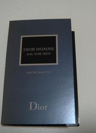Dior homme eau for men диор туалетная вода для мужчин. акция 4=5