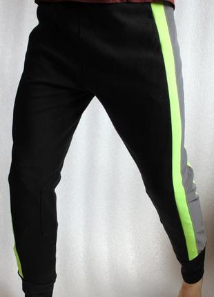 Штаны брюки для верховой езды светоотражающие рефлектив спортивки