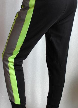 Штаны брюки спортивные светоотражающие рефлектив спортивки