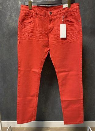 Красные джинсы s.oliver большого размера (4-6xl) новые, с биркой!