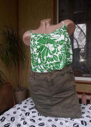 Denim co/качественная юбка + подарок маечка