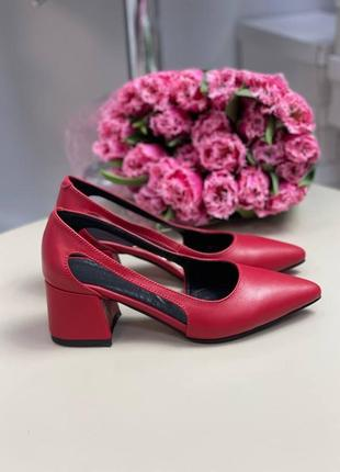 Туфли женские натуральная кожа замша италия2 фото