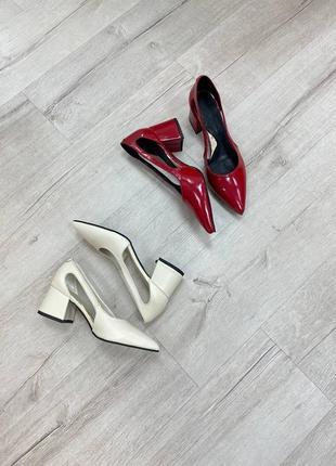 Туфли женские натуральная кожа замша италия5 фото