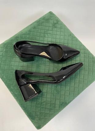 Туфли женские натуральная кожа замша италия9 фото