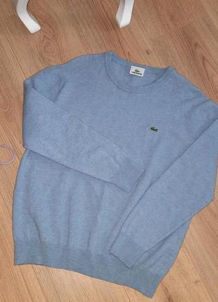 ⭐новый свитшот  свитер шерстяной джемпер⭐ кофта унисекс⭐ lacoste s