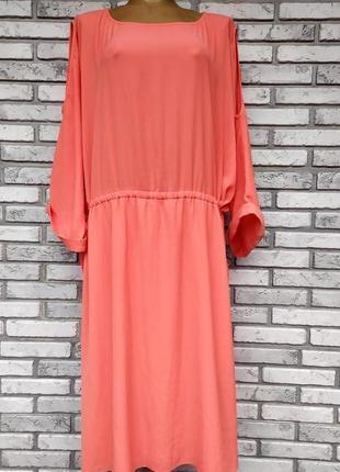 Красивое нежное летнее платье размер 6хl