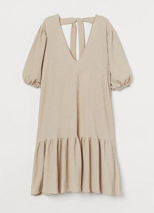 Платье летнее сарафан миди балахон, сукня міді коротка h&m, плаття літнє
