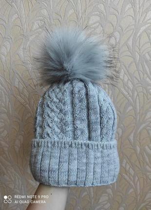 Внесезонная цена ! шапка зимняя новая