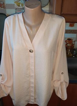 Хит этого лета рубашка с материала жатка! размер м-l