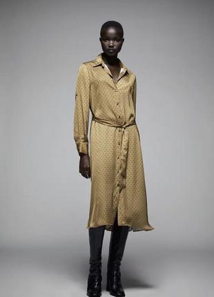 Zara новое платье с бирками размер m/l