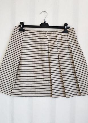 Легкая юбка в полоску marc o polo размер м