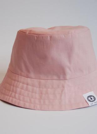 Двостороння панамка рожева