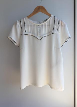 Милейшая блузочка/футболка от naf naf