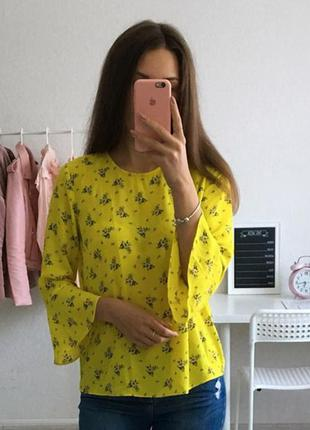 Шифоновя блуза от warehouse