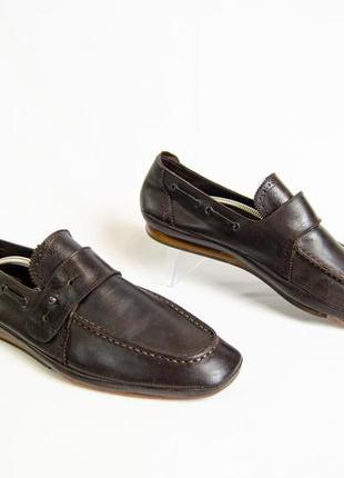 Kenzo мужские туфли мокасины монки оригинал! размер 41 26,5 см