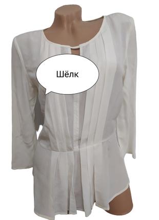 Шелковая блуза/кофточка hallhuber
