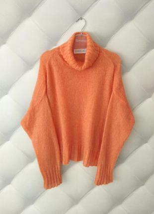 Мохеровый свитер оверсайз от marccain