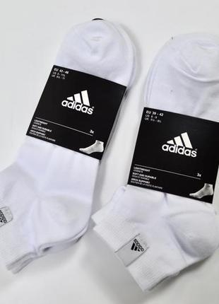 Adidas thin ankle socks 3 pairs оригинальные носки