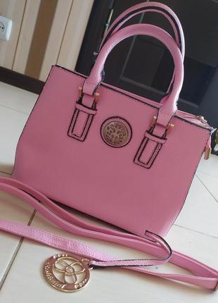 Сумка/ яркая сумка/ розовая сумка/ маленькая сумочка