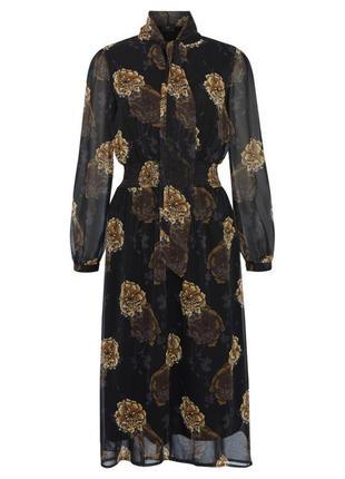 F&f шифоновое платье миди