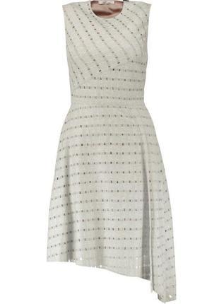 Carven оригинал франция новое с биркой шерстяное теплое платье