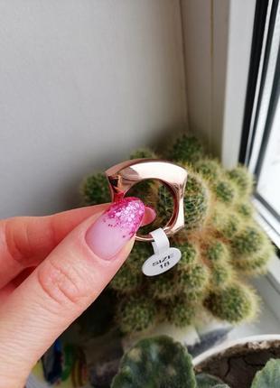 Стильное кольцо флоранж florange бижутерия