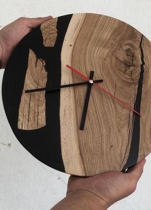 Годинник/часы/loft/time/epoxy/епоксидна смола/дизайн