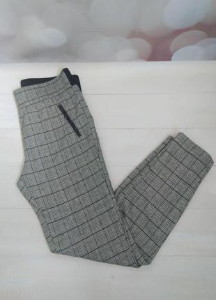 Супер стильные брюки в клеточку yessica 44р.