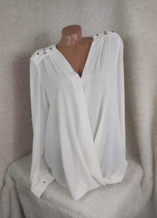 Шикарная супер клевая красивая нарядная блуза