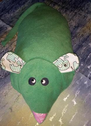 Подушка игрушка мышка