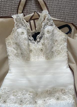 Свадебное платье для принцессы2 фото