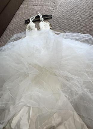 Свадебное платье для принцессы3 фото