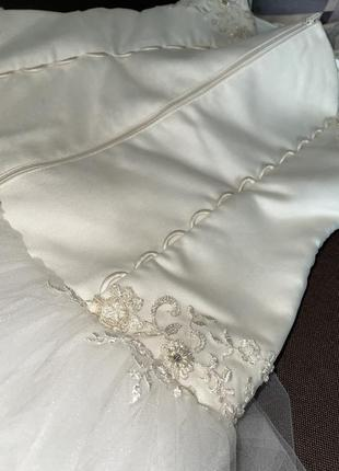 Свадебное платье для принцессы10 фото