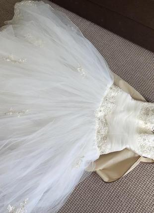 Свадебное платье для принцессы5 фото