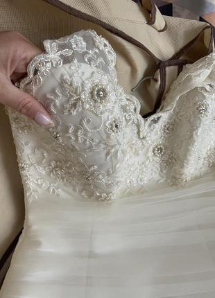Свадебное платье для принцессы8 фото