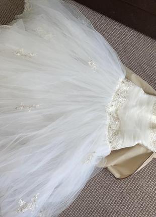 Свадебное платье для принцессы6 фото