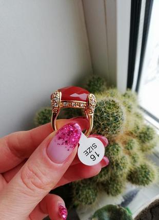 Оригинальное кольцо флоранж florange бижутерия