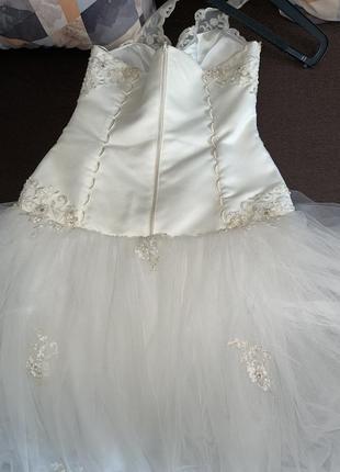 Свадебное платье для принцессы4 фото