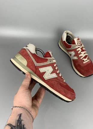 New balance 574 reflective кроссовки / кеды / спортивная обувь