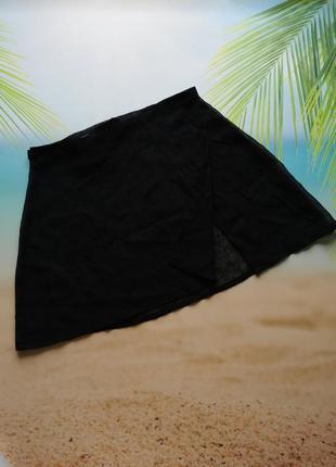 Пляжная набедренная накидка, юбка на запах