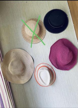 Шляпы 👒 соломенная шляпа