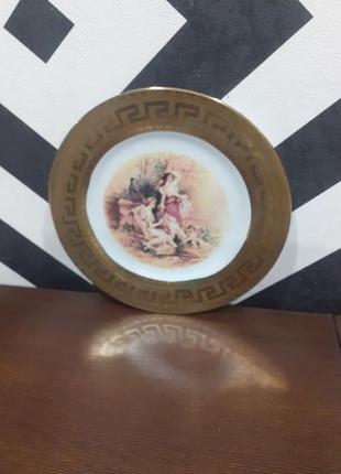 Декоративная тарелка на стену.  винтаж