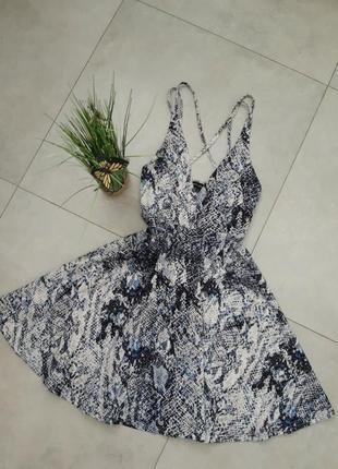 Шикарне плаття миди рептилія