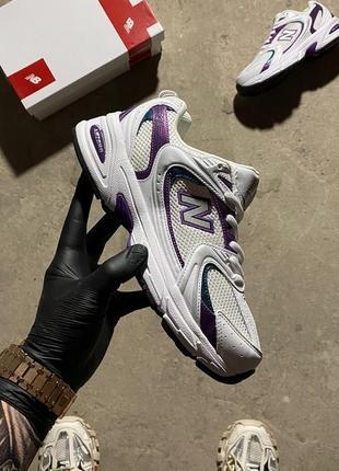 Кроссовки new balance 530 white violet.