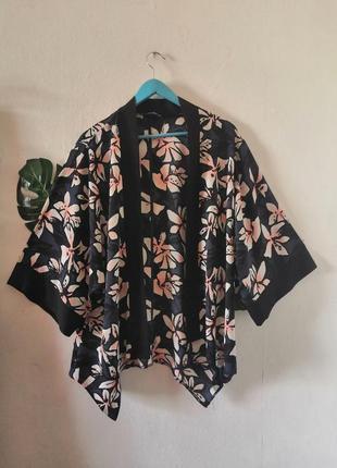 Накидка - кимоно с магнолиями george