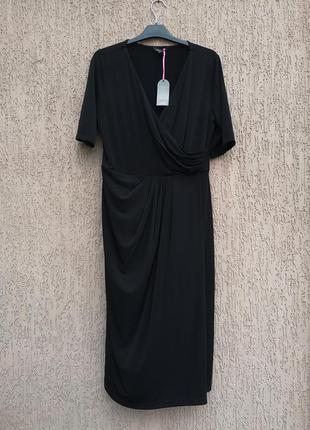Нова вечірня сукня платье вечернее с драпировкой marisota